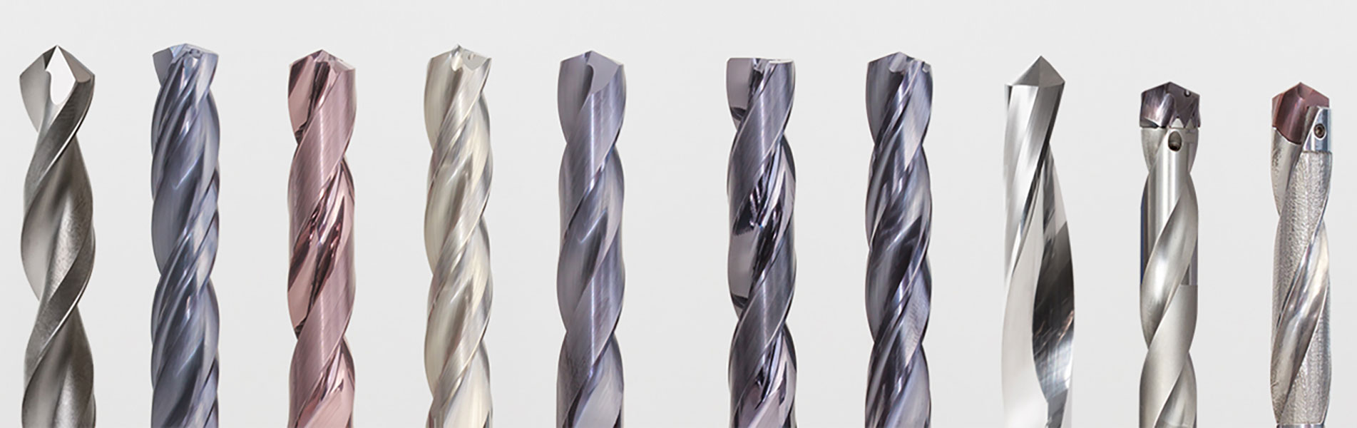 Product range solid carbide drills