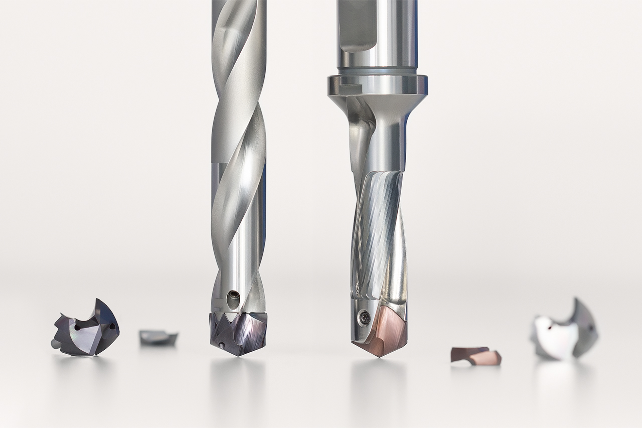 Overview indexable insert drill QTD from MAPAL
