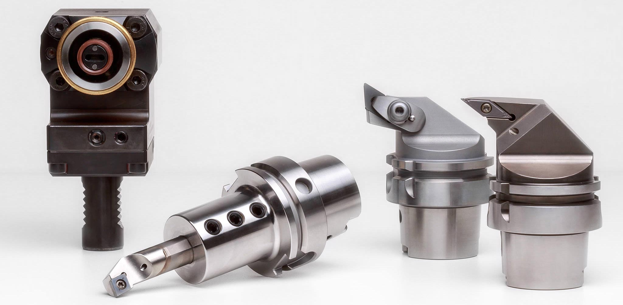 ISO turning tools and conversion systems with HSK-T from MAPAL.