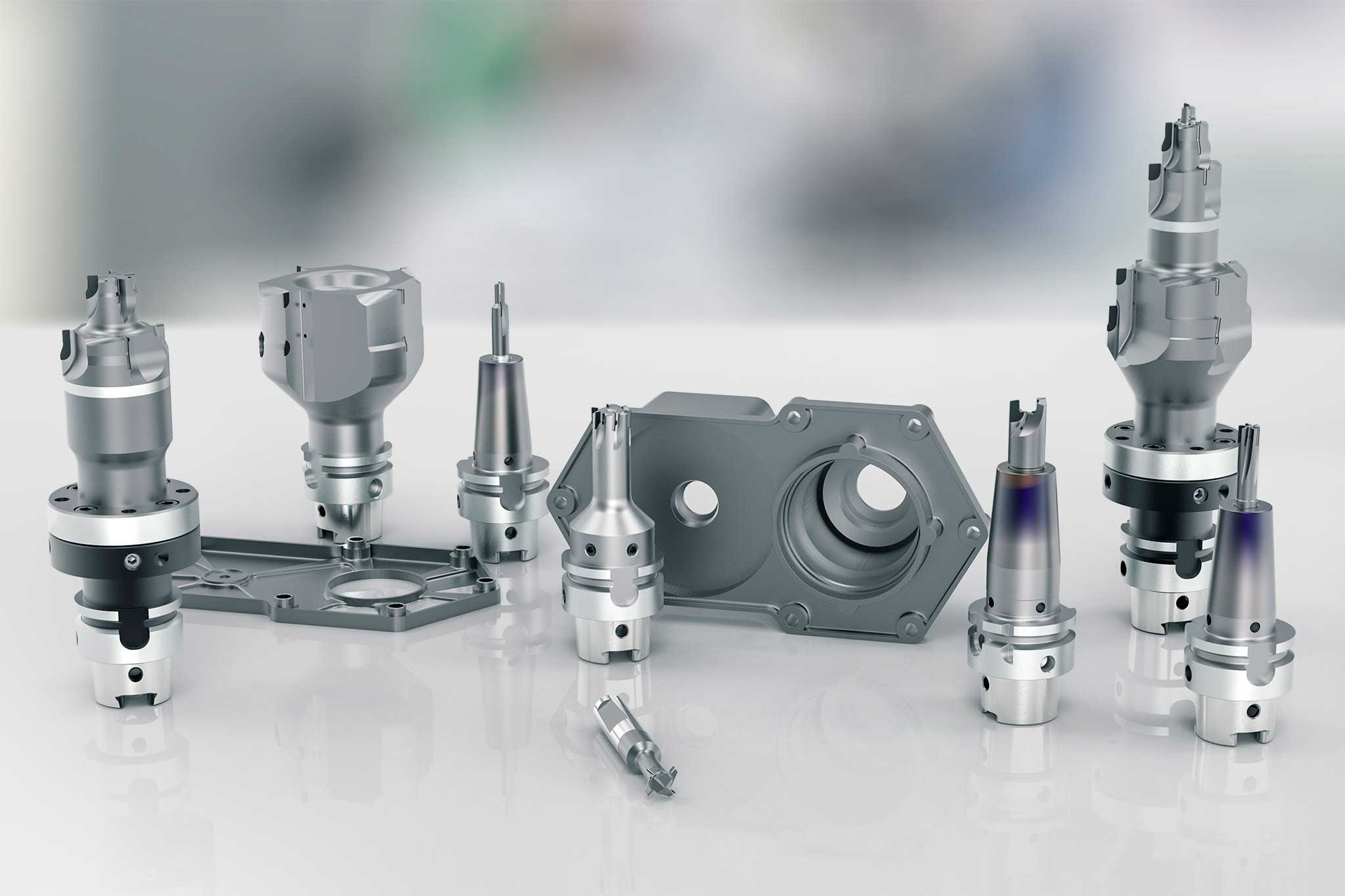 MAPAL offers complete machining solutions for small electric motor housings.