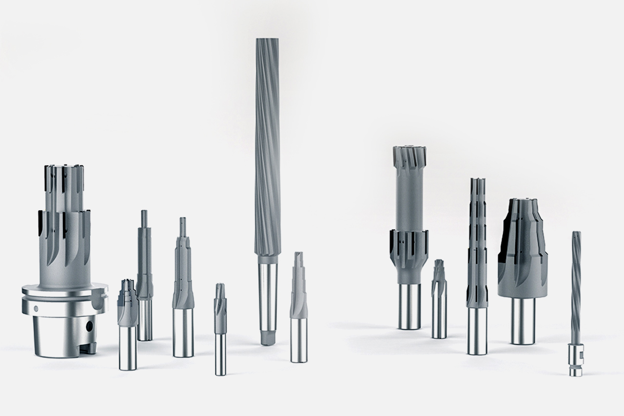 Special solutions in the field of multi-bladed reamers from MAPAL.