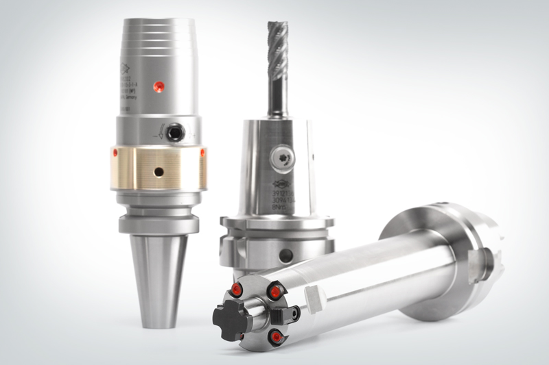 An overview of different types of chucks and clamping technologies MAPAL offers.