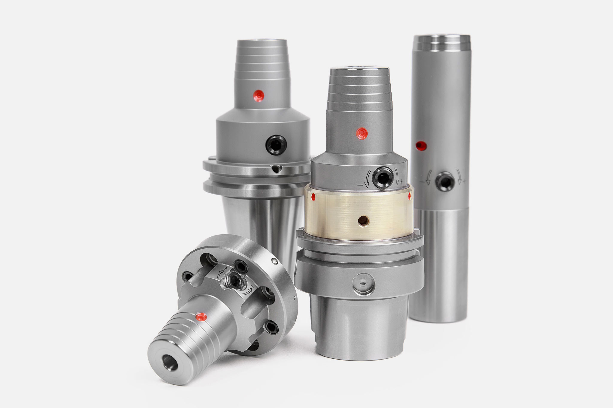Different types of hydraulic expansion chucks